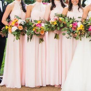 Bill Levkoff Style 7019 Blush Bridesmaid Dress